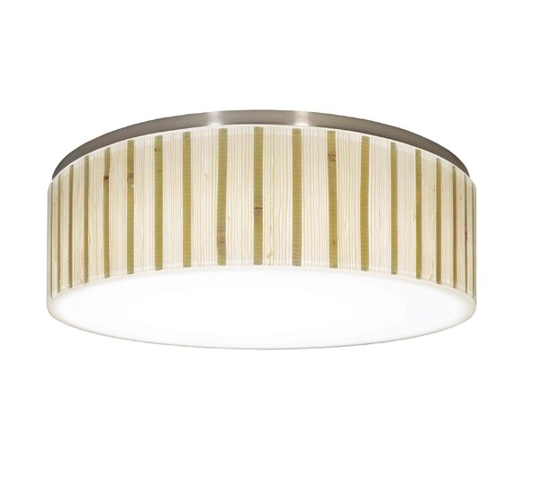 Recesso Galleria Resin Drum Pendant shade ( Screw on ) in Beige