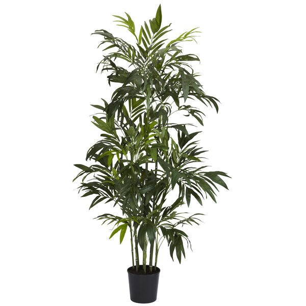 Bamboo Palm Tree in Pot by Nearly Natural
