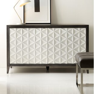 Best Melange Bellamy 2-Door Credenza by Hooker Furniture