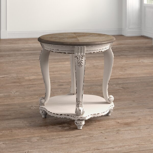 Sara End Table With Storage By Ophelia & Co.