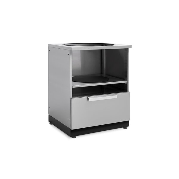Outdoor Kitchen Stainless Steel Kamado Cabinet by NewAge Products