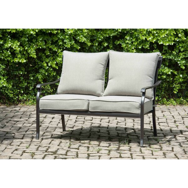 Beeson Loveseat with Cushions by Williston Forge