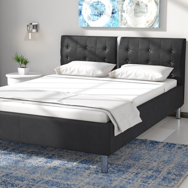 Amazing Marcantel Upholstered Platform Bed By Wade Logan 2019 Coupon