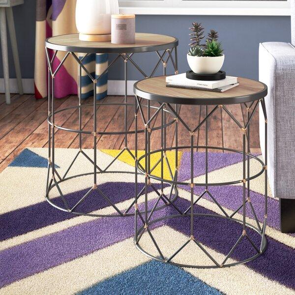 Bolander 2 Nesting Tables (Set Of 2) By Ivy Bronx