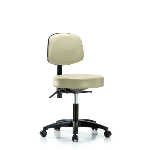 Selina Desk Height Adjustable Lab Stool