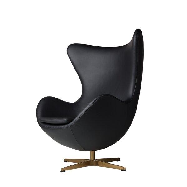 Oliviana Swivel Lounge Chair by Orren Ellis Orren Ellis