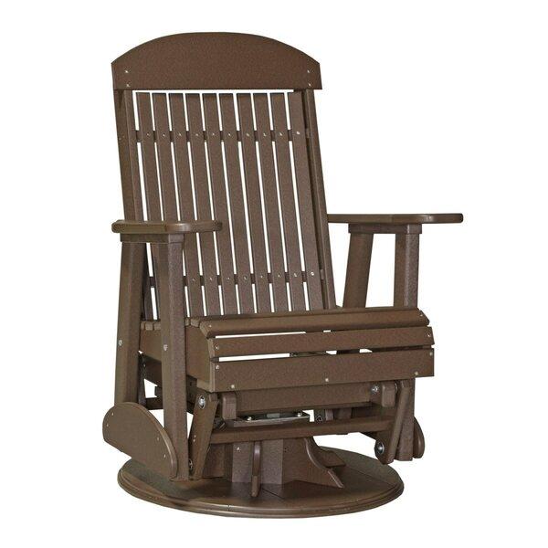 Tanuja Adirondack Swivel Glider Chair by Ebern Designs