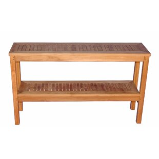 Outdoor console tables youll love wayfair two level buffet sideboard watchthetrailerfo