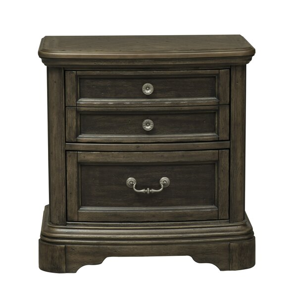 Wyndell 2 Drawer Nightstand by Williston Forge