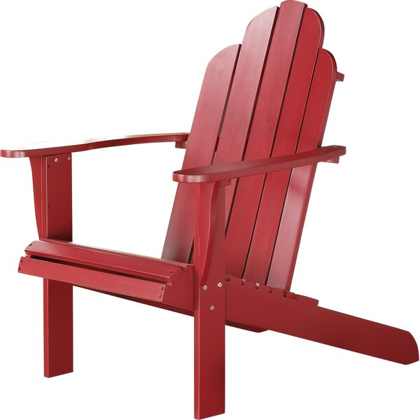 Norgren Solid Wood Adirondack Chair by Beachcrest Home