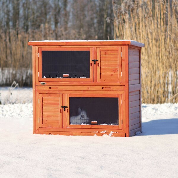 Lowman 2 Story Small Animal Insulated Hutch by Tucker Murphy Pet