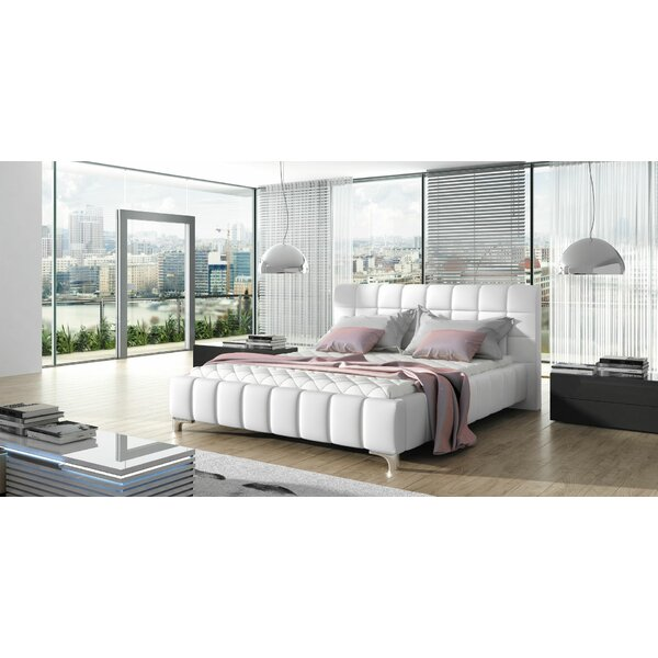 Borgata Modern Queen Upholstered Platform Bed By Orren Ellis Coupon