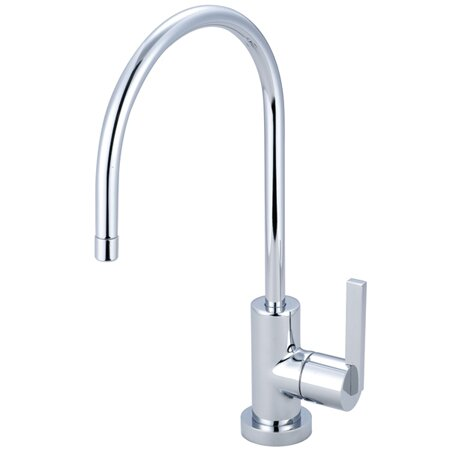 Continental Gourmetier Single Handle Kitchen Faucet by Kingston Brass