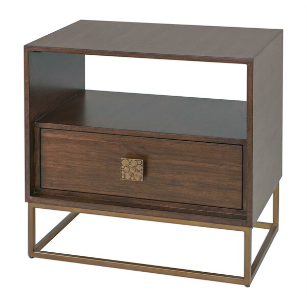 Robles End Table with Storage by Everly Quinn
