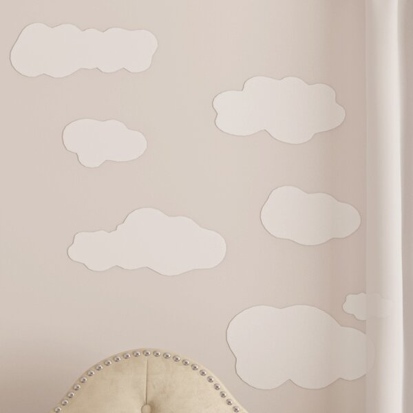 Sunny 19 Piece Clouds Wall Decal by Viv + Rae