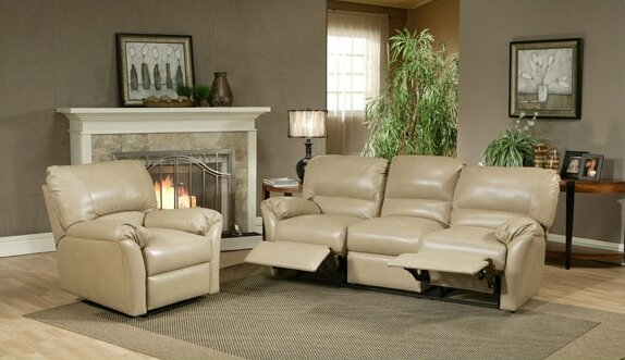 Mandalay Reclining Leather Configurable Living Room Set by Omnia Leather