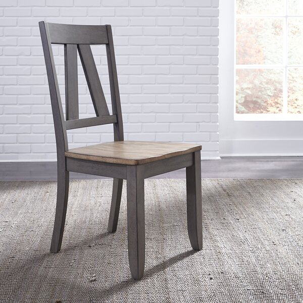 Kruger Splat Back Dining Chair (Set of 2) by Gracie Oaks