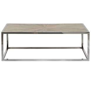 Paulsen Parquet Coffee Table with Tray Top