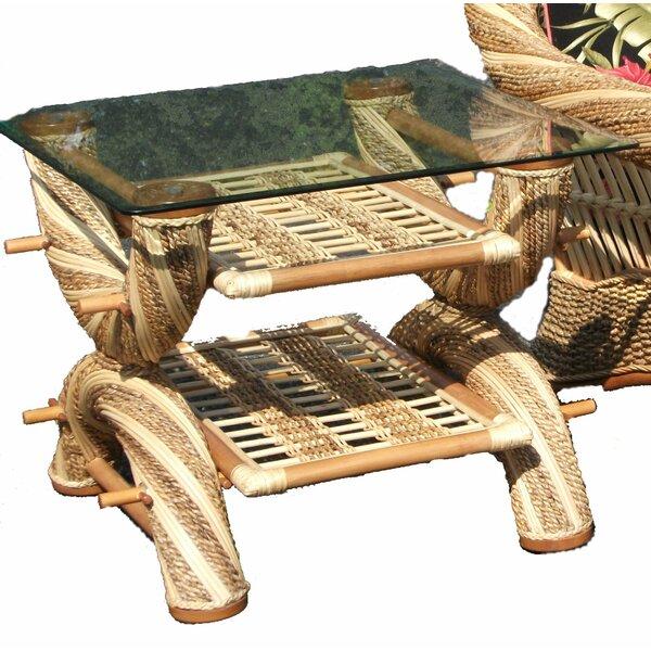 Maui Twist End Table by Spice Islands Wicker