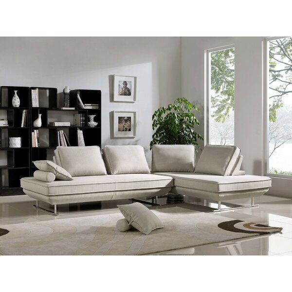 Kannenberg Sleeper Sectional by Orren Ellis