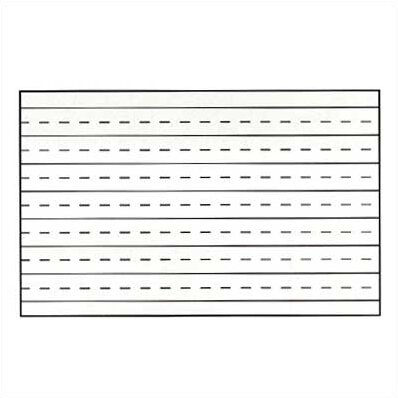 Pro-Rite Penmanship Lines Magnetic Graphic/Grid Whiteboard by Marsh