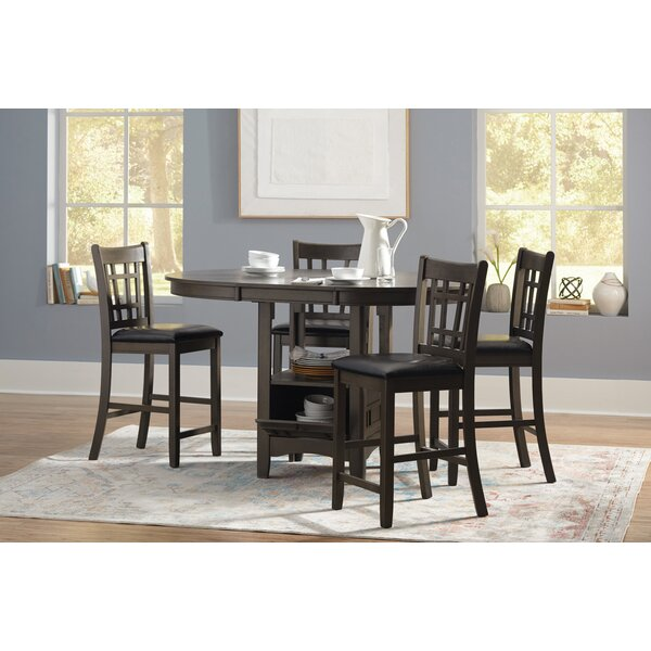 Benambra 5 Piece Counter Height Dining Set by Red Barrel Studio Red Barrel Studio