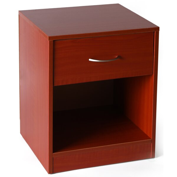 Mila 1 Drawer Nightstand by Ebern Designs