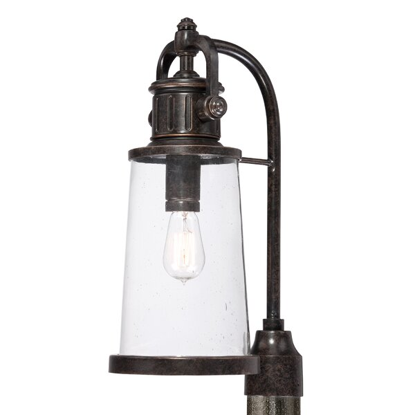 Millbrook Outdoor 1-Light Lantern Head by Three Posts