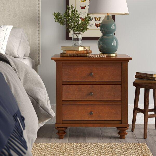 Garrick 3 Drawer Nightstand by Birch Lane™ Heritage