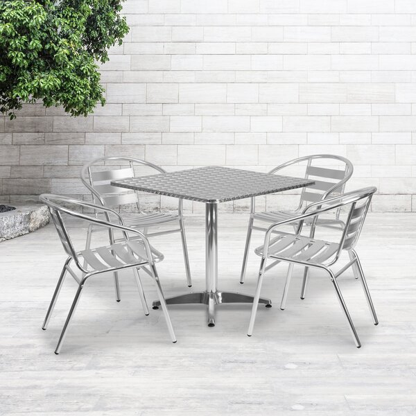 Imboden 5 Piece Patio Dining Set by Zipcode Design