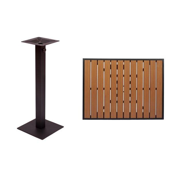Longport Teak Bar Table by BFM Seating