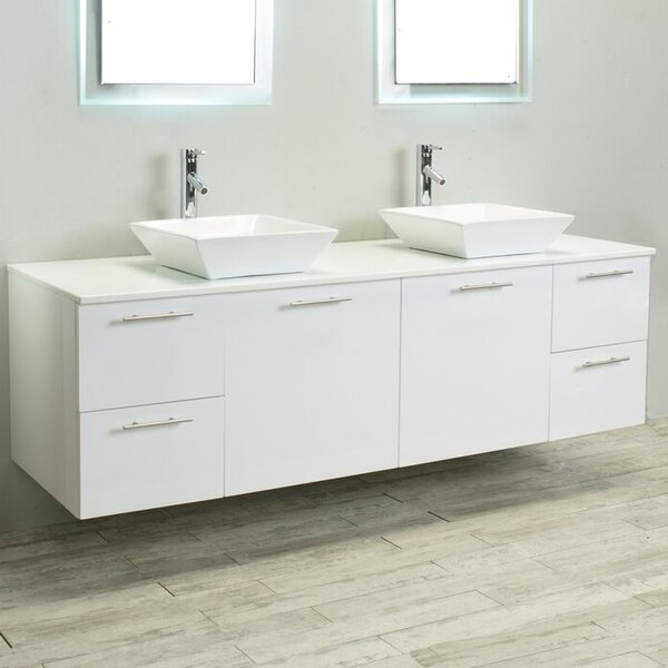 Orrville 72 Double Bathroom Vanity by Orren Ellis