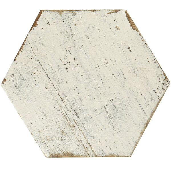 Rama 14.13 x 16.25 Porcelain Field Tile in White b