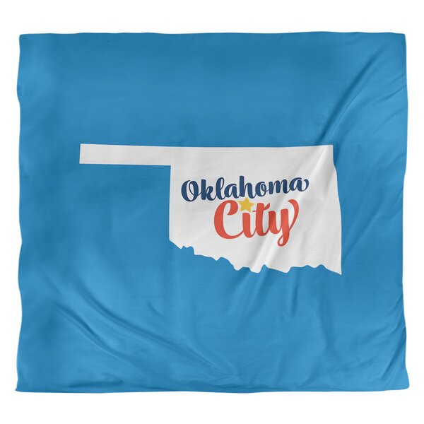 Oklahoma City Oklahoma Duvet Cover