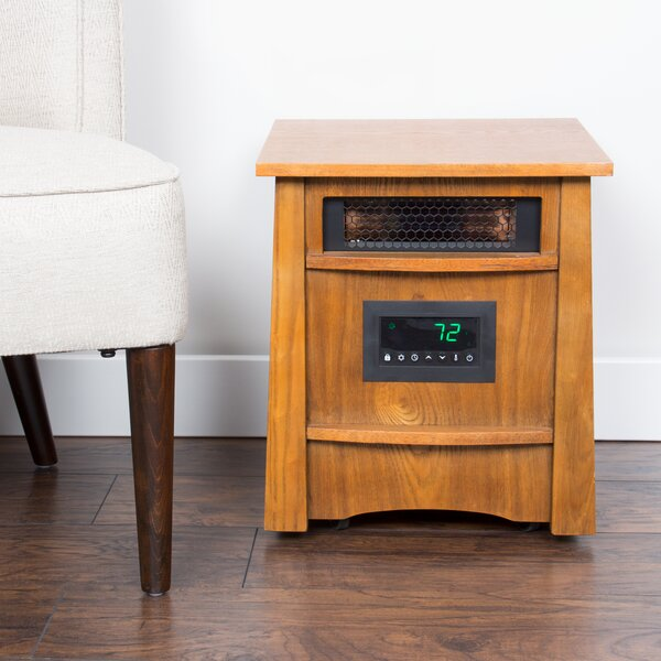 Furniture Style 8 Element 1500 Watt Electric Infrared Cabinet Heater by Lifesmart