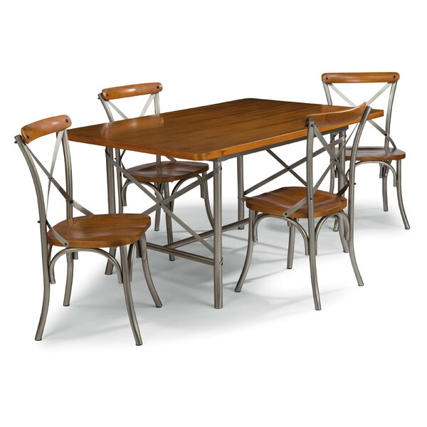 Haycraft 5 Piece Dining Set by Williston Forge