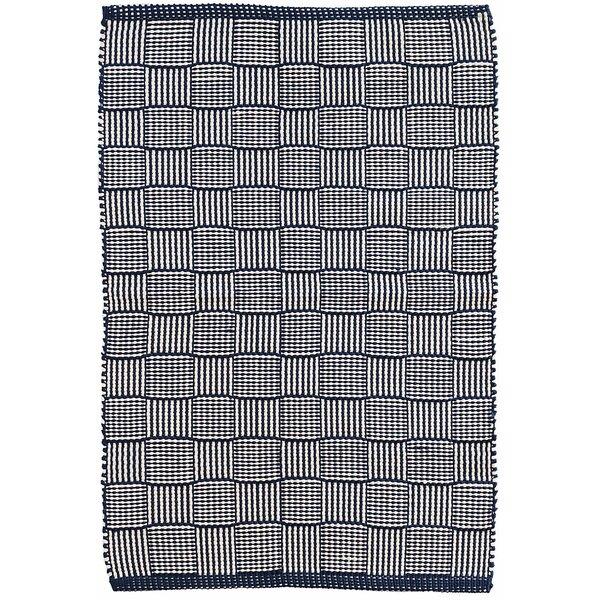 Webber Hand-Woven Blue Indoor/Outdoor Area Rug by Dash and Albert Rugs
