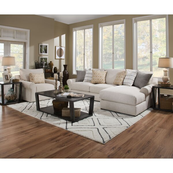 Pompeii Snow Sectional by Highland Dunes