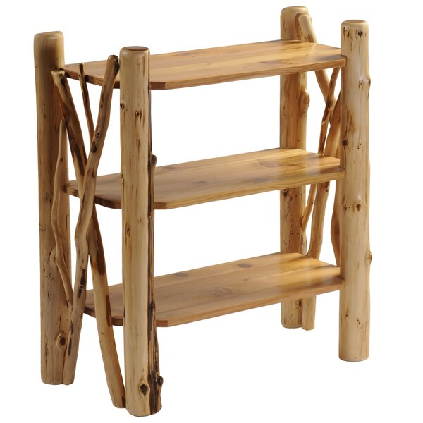 Cedar Open Etagere Bookcase by Fireside Lodge