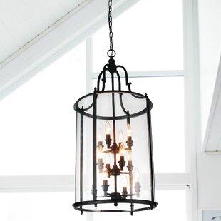 Tom 12-Light Lantern Pendant by Alcott Hill
