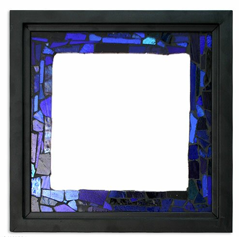 Heaven Stained Glass Wall Mirror by Novica