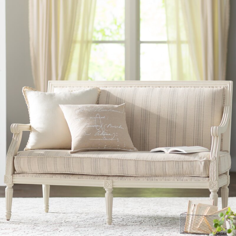 Aella Settee. Timeless Furniture Finds & Timeless Thoughts.