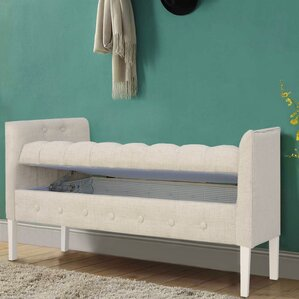 Ghent Wood Storage Bench by Ophelia & Co.