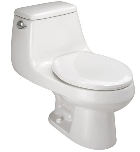 Aegean 1.6 GPF Elongated One-Piece Toilet by Mansfield Plumbing Products