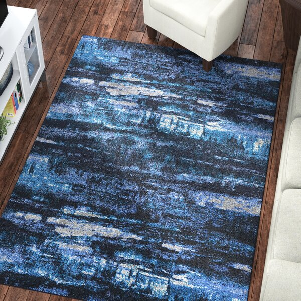 Basnight Sky Blue Area Rug By Latitude Run.