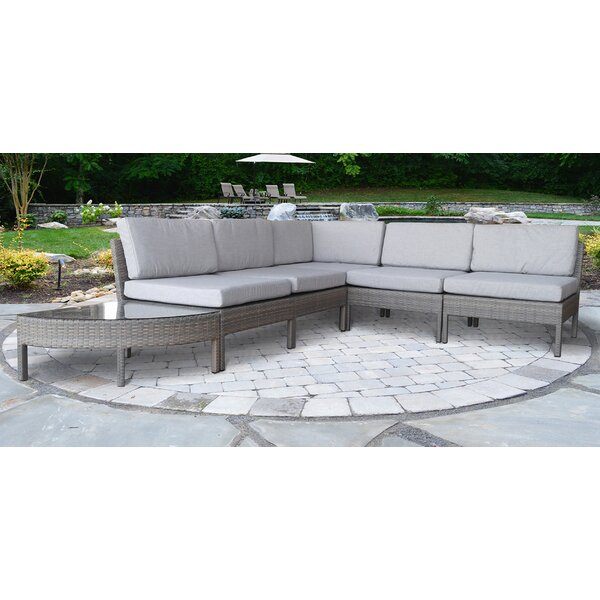 Diego 6 Piece Sectional Set with Cushions by Corrigan Studio