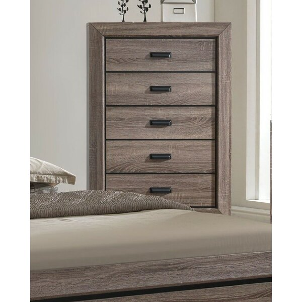 Gianna 5 Drawer Chest by Foundry Select