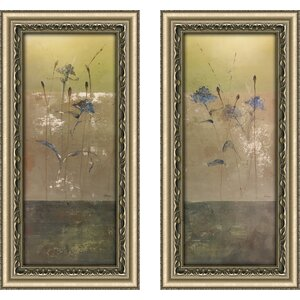 'Kimono I' 2 Piece Framed Print Set by Red Barrel Studio