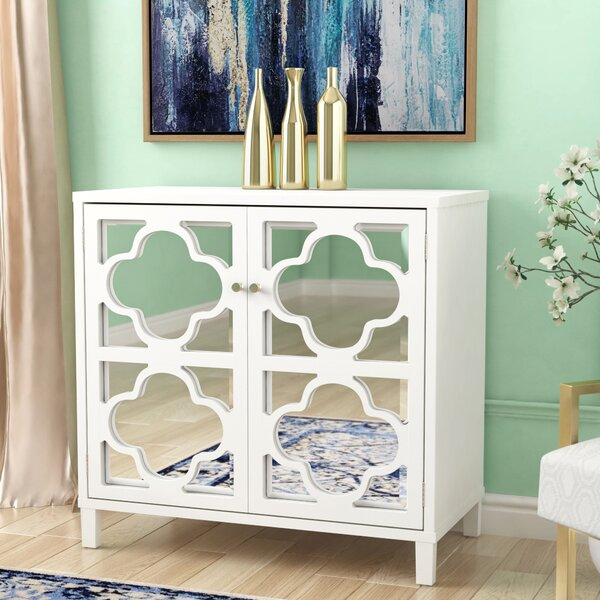 Musselwhite Mirror Accent Cabinet by House of Hampton