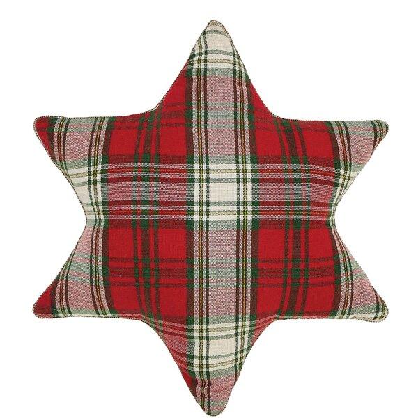 HO HO Holiday Snowflake Pillow by The Holiday Aisle